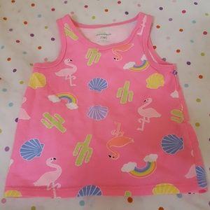 Sz 2T/NP2 pink girl's Garanimals Cactus Shell Top